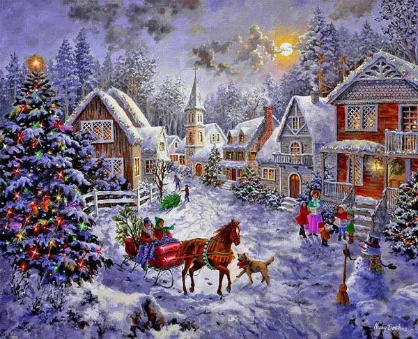 Новый год - время волшебства, сказок и исполнения желаний...